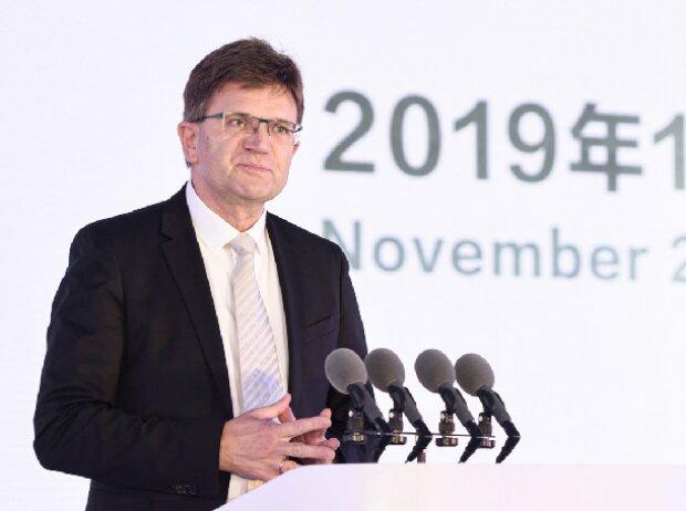 Klaus Fröhlich, BMW-Vorstand Entwicklung