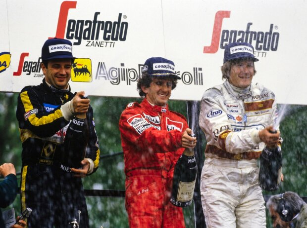 Alain Prost, Elio de Angelis