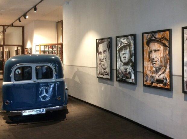 Ausstellung Bernd Luz Motorworld München