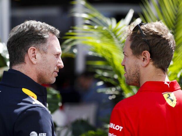 Christian Horner, Sebastian Vettel