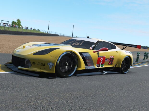 Corvette C7.R, E-Sport