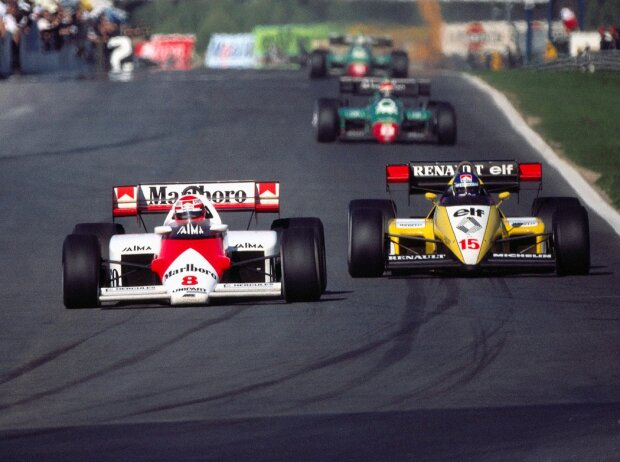 Niki Lauda, Patrick Tambay
