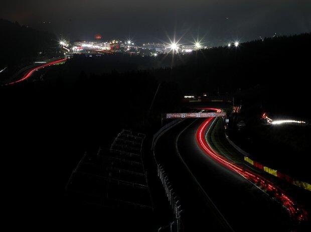 24h Spa, 24 Stunden von Spa, Nacht, Panorama