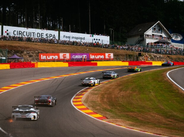 Renn-Action bei den 24h Spa 2019