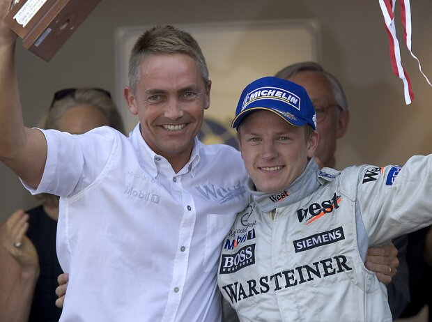 Kimi Räikkönen, Martin Whitmarsh