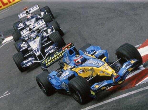 Fernando Alonso, Nick Heidfeld, Mark Webber