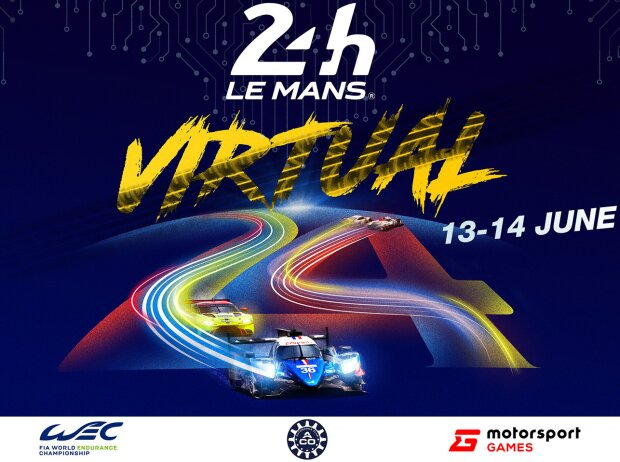 Poster: 24h Le Mans virtuell