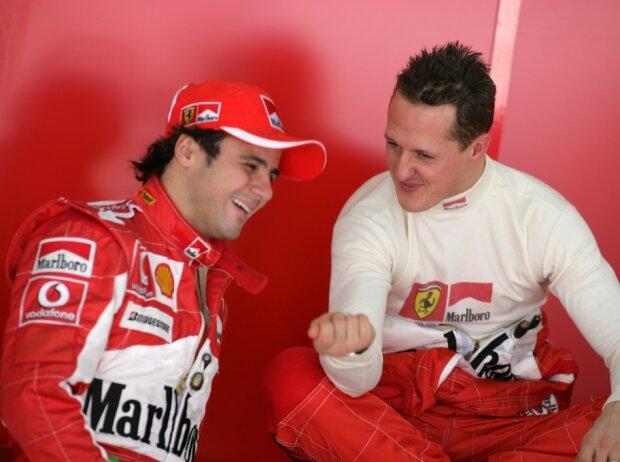 Felipe Massa, Michael Schumacher