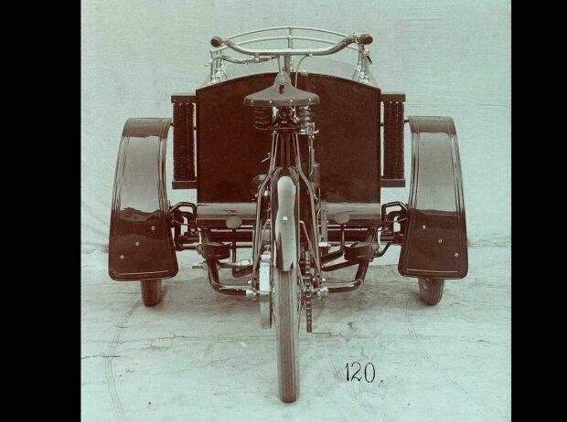 Skoda: LW-Dreirad von Laurin & Klement