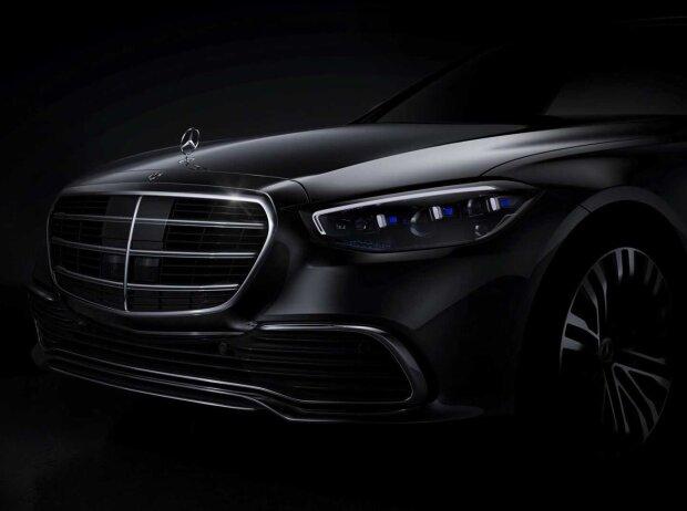 2021 Mercedes S-Klasse Teaser
