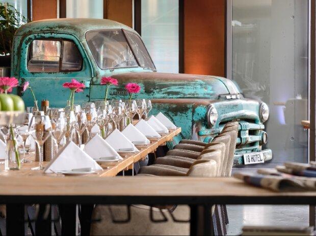 Restaurant V8 Hotel Motorworld Region Stuttgart