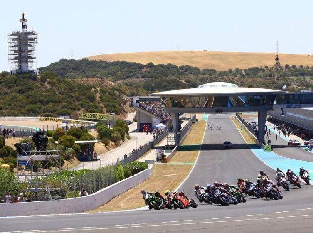 Start der Superbike-WM 2019 in Jerez