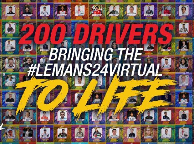 24h Le Mans virtuell: Grafik