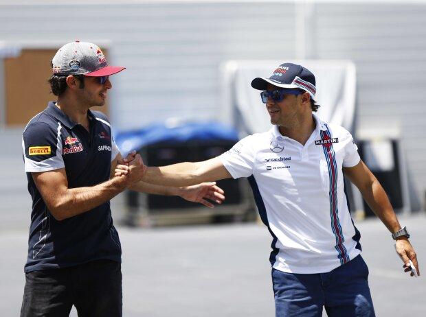 Felipe Massa, Carlos Sainz