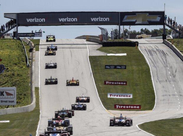 IndyCar-Rennen in Elkhart Lake