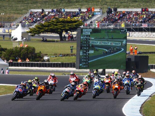 Start zum GP Australien 2017 auf Phillip Island