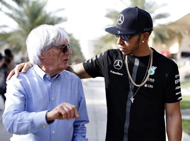 Bernie Ecclestone, Lewis Hamilton