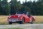 Triumph TR3a - das erste britische Fahrzeug mit Scheibenbremse