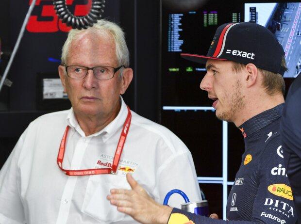 Christian Horner, Max Verstappen