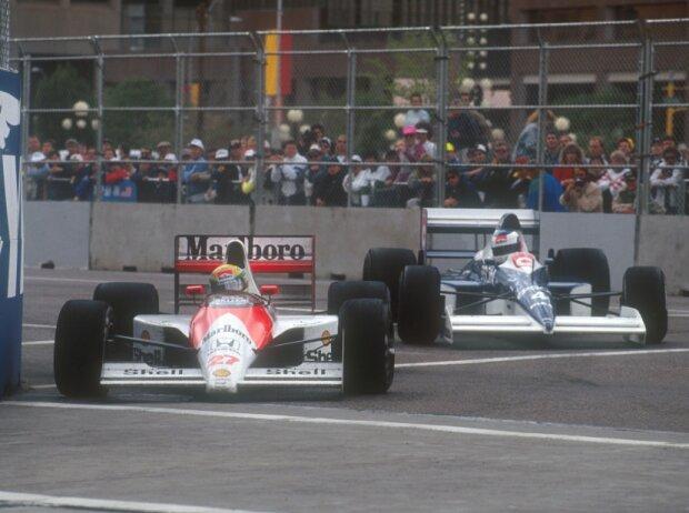 Ayrton Senna, Jean Alesi