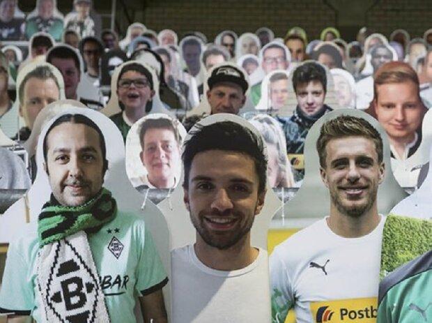 Fans von Borussia Mönchengladbach