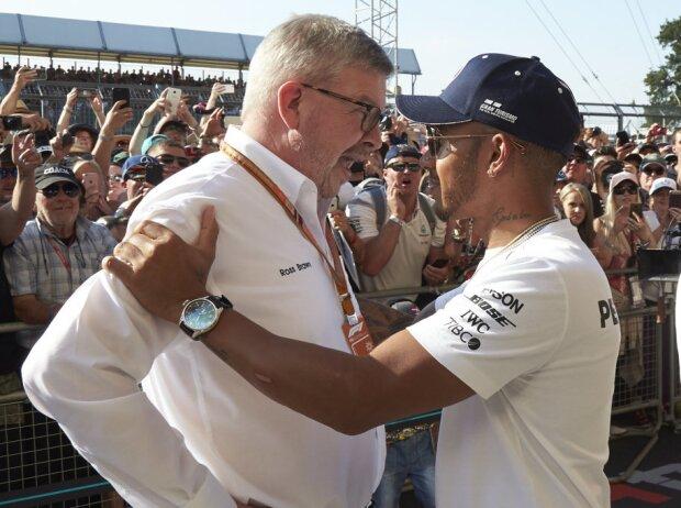 Lewis Hamilton, Ross Brawn