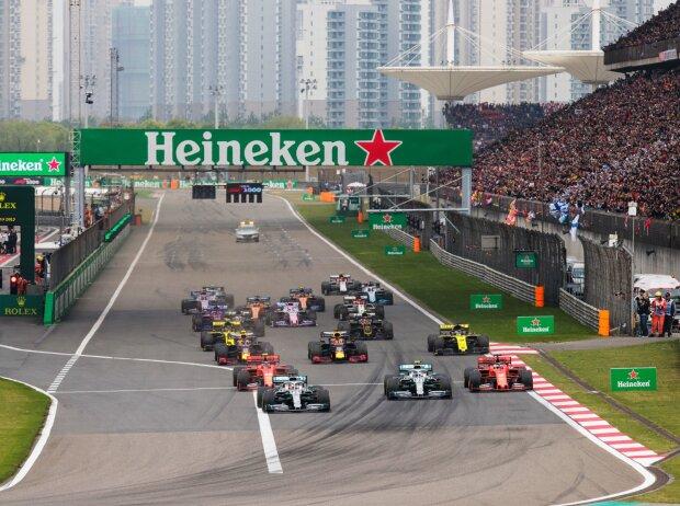 Lewis Hamilton, Valtteri Bottas, Charles Leclerc, Sebastian Vettel, Max Verstappen