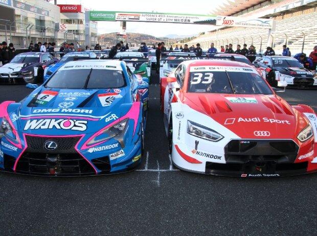 Lexus, Audi, Super GT