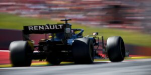 Formel-1-Liveticker: Exklusive Videos vom Renault-Test in Spielberg