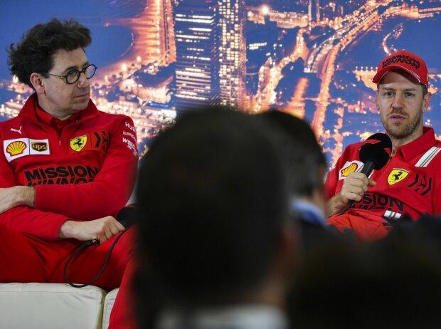 Mattia Binotto, Sebastian Vettel