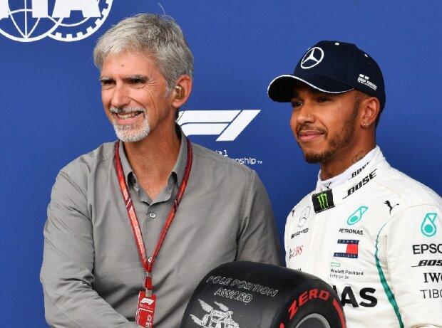 Damon Hill, Lewis Hamilton