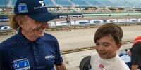 Emerson Fittipaldi mit Sohn Emerson Fittipaldi jun.