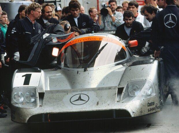 Jean-Louis Schlesser, Jochen Mass Alain Ferte