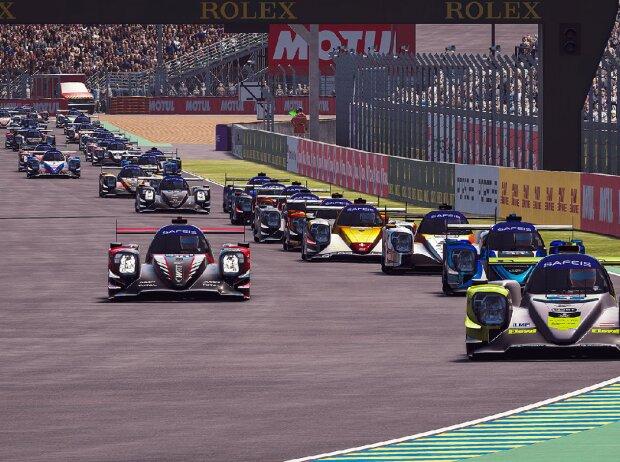 E-Sport: Start zu den 24h Le Mans virtuell
