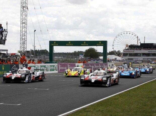 24h Le Mans 2019, Start