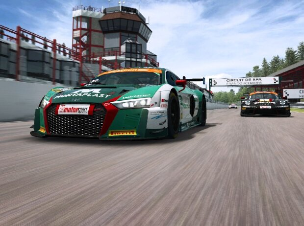 GT-Masters eSports Challenge, RaceRoom Racing Experience
