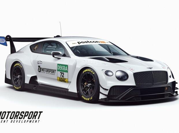 Bentley Continental GT3, T3 Motorsport