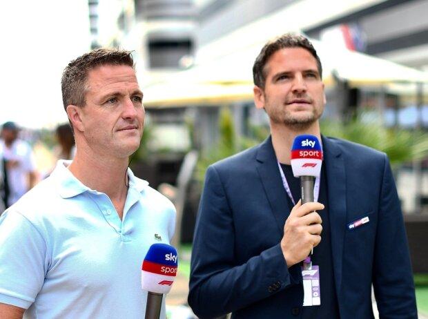 Ralf Schumacher und Peter Hardenacke