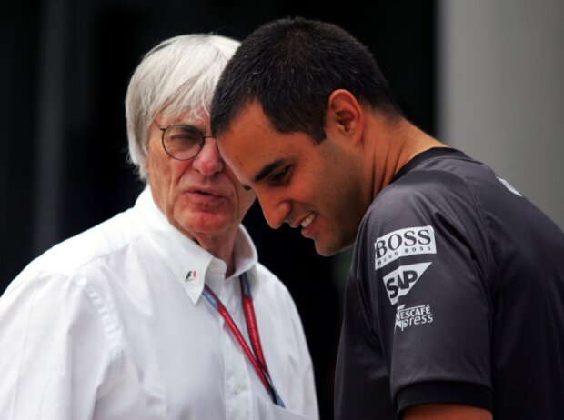 Bernie Ecclestone, Juan Pablo Montoya
