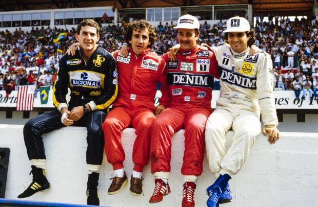 Alain Prost Nigel Mansell  ~Alain Prost und Nigel Mansell ~