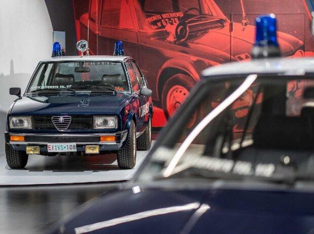 Alfa Romeo in Uniform: Die Autos der Carabinieri