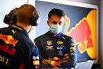 Alexander Albon und Renningenieur Mike Lugg (Red Bull)