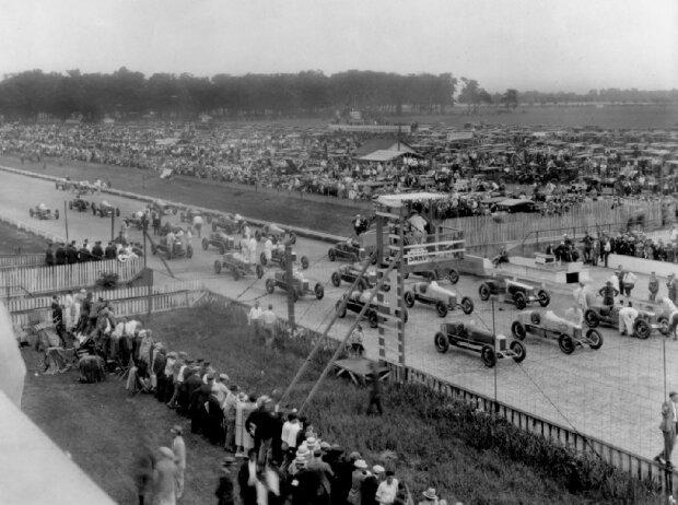 Indianapolis Startfeld 1926