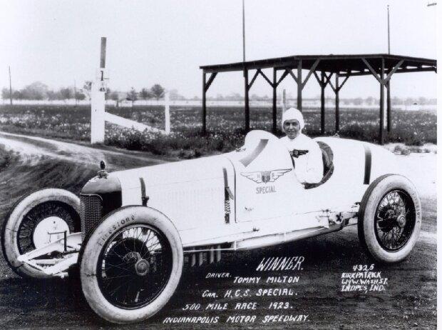 Tommy Milton, Indianapolis 1921, 1923