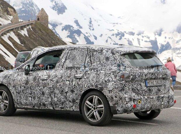 BMW 2er Active Tourer auf neuen Erlkönigbildern