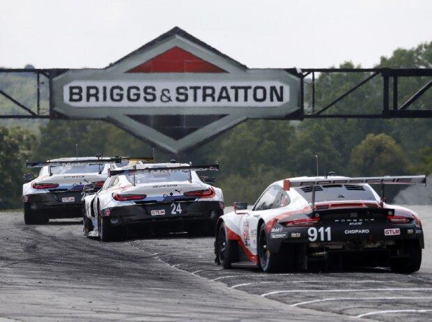 Porsche 911 RSR, BMW M8 GTE