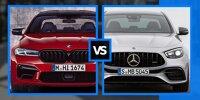 BMW M5 (2020) und Mercedes-AMG E 63 (2020) im ersten Vergleich