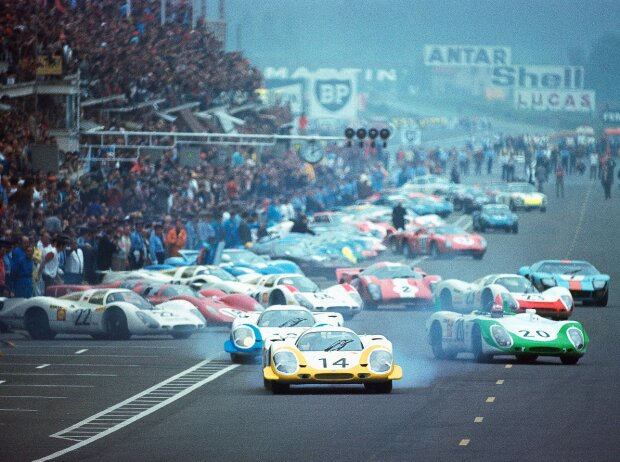 Start zu den 24h Le Mans 1969: Der letzte klassische Le-Mans-Start