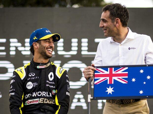Daniel Ricciardo, Cyril Abiteboul