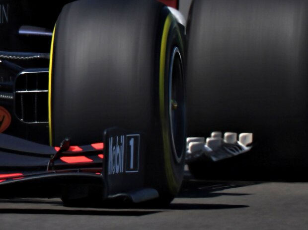 Red Bull RB16, Unterboden